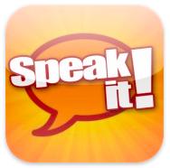 Icône de Speak it!